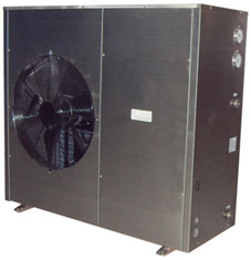 Eco Airpump ECO7 air source heat pump stainless steel