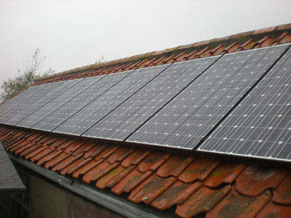 MCS solar complete system installation samples