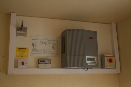MCS solar complete system installation samples G83 inverter